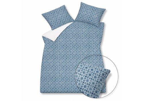 Vandyck PURE 17 duvet cover 140x220 cm Vintage Blue-403 (percale cotton)