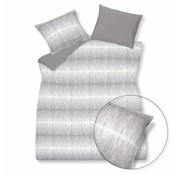 Vandyck PURE 18 duvet cover 200x220 cm Gray-011 (linen / cotton)