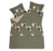 Vandyck DAILY dekbedovertrek 200x220 cm Olive-113 (satijnkatoen)