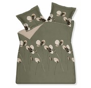Vandyck DAILY duvet cover 200x220 cm Olive-113 (sateen cotton)