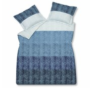 Vandyck DETOUR duvet cover 240x220 cm Vintage Blue-403 (sateen cotton)