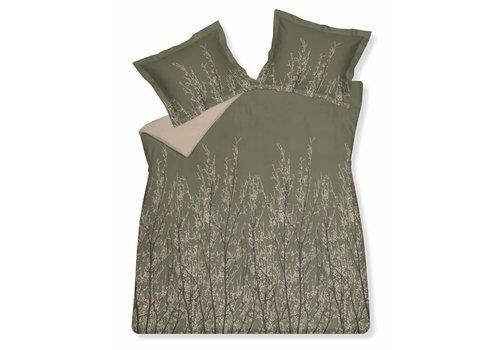 Vandyck MAZE duvet cover 140x220 cm Olive-113 (sateen cotton)