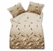 Vandyck TRADEMARK duvet cover 200x220 cm Sand-048 (sateen cotton)