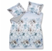 Vandyck LOVE STORY duvet cover 140x220 cm Vintage Blue-403 (satin cotton)