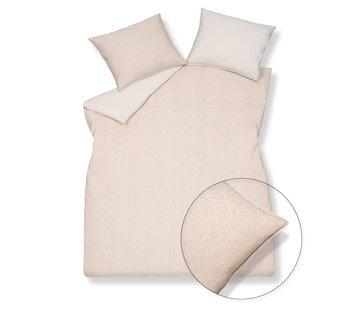 Vandyck PURE 27 Stone duvet cover 140x220 cm (linen / cotton)