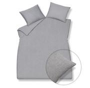Vandyck Dekbedovertrek PURE 29 Grey 140x220 cm (linnen/katoen)