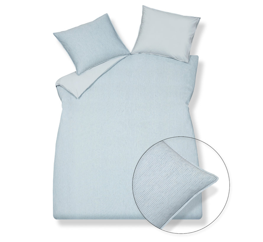 Duvet cover PURE 27 Faded Denim 140x220 cm (linen / cotton) PRSA19127