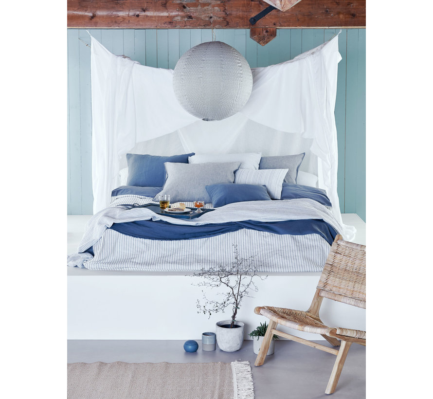 Duvet cover PURE 29 Faded Denim 240x220 cm (linen / cotton) PRSA19129