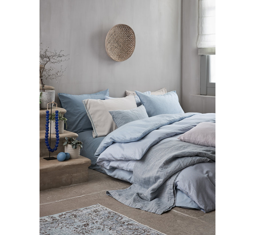 Duvet cover PURE 34 Faded Denim 200x220 cm (satin cotton) PRSA19134