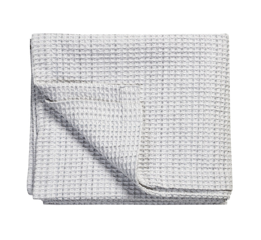 Bedspread / waffle blanket PURE 31 Gray 260x260 cm