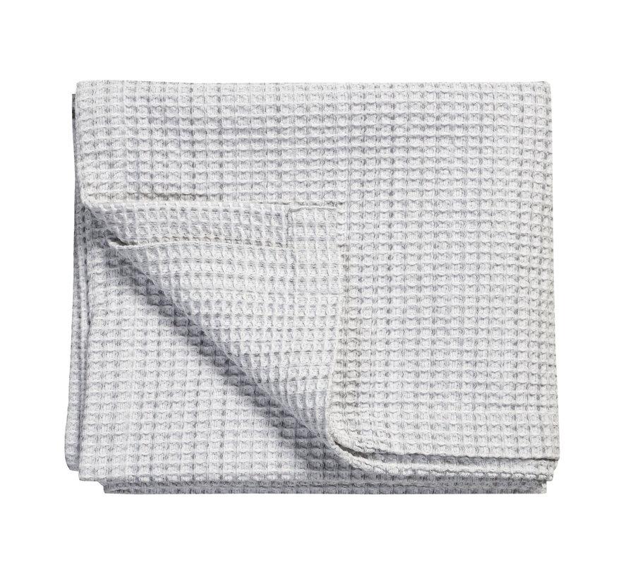 Bedsprei / wafeldeken  PURE 31 Grey 260x260 cm