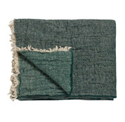 Vandyck HOME 81 plaid 130x220 cm Dark Green