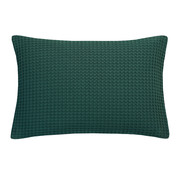Vandyck HOME Pique kussensloop 40x55 cm Dark Green-073