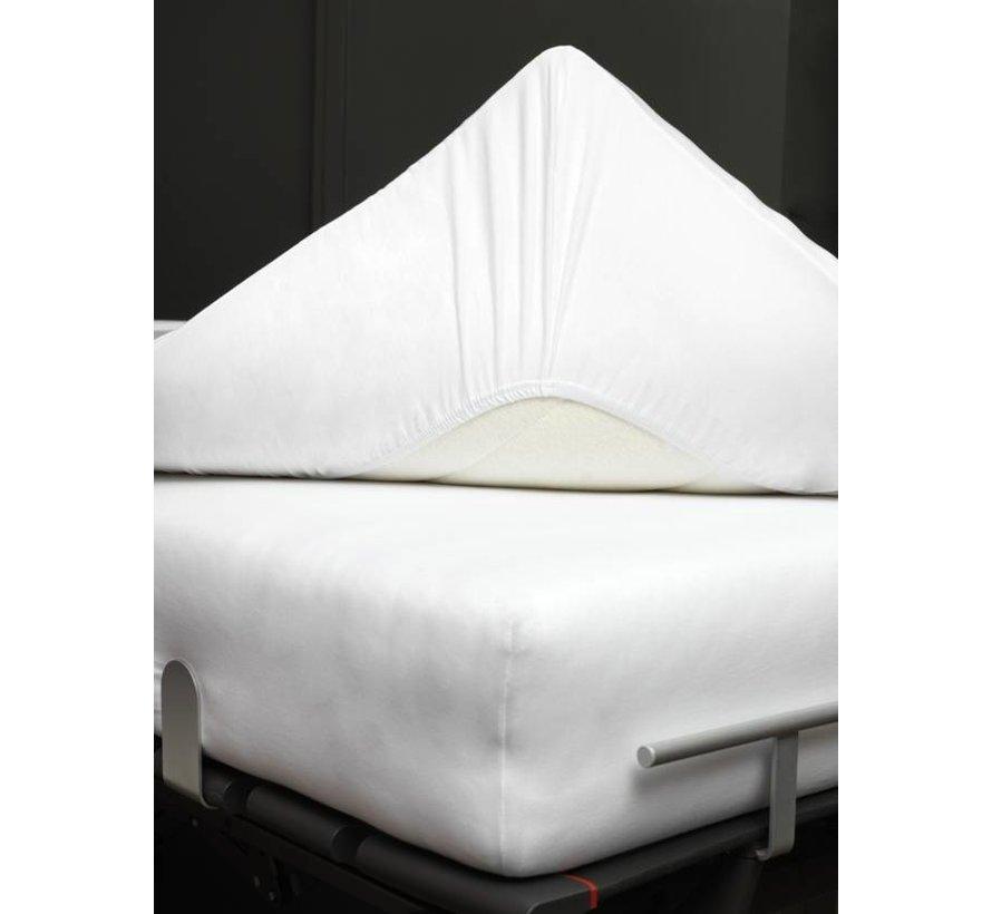 Jersey supreme fitted sheet Mole Gray-001 (stretch) SLKM8201