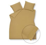 Vandyck Duvet cover PURE 07 Honey Gold 240x220 cm (linen / satin cotton)