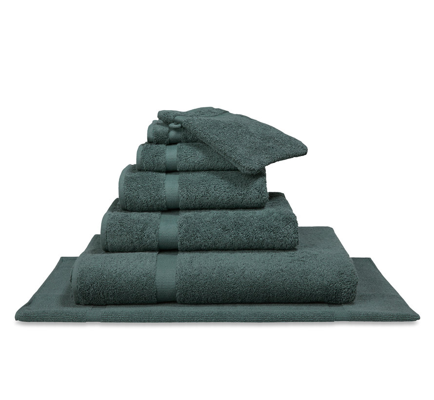 RANGER bathroom linen Earth Green (CO015)