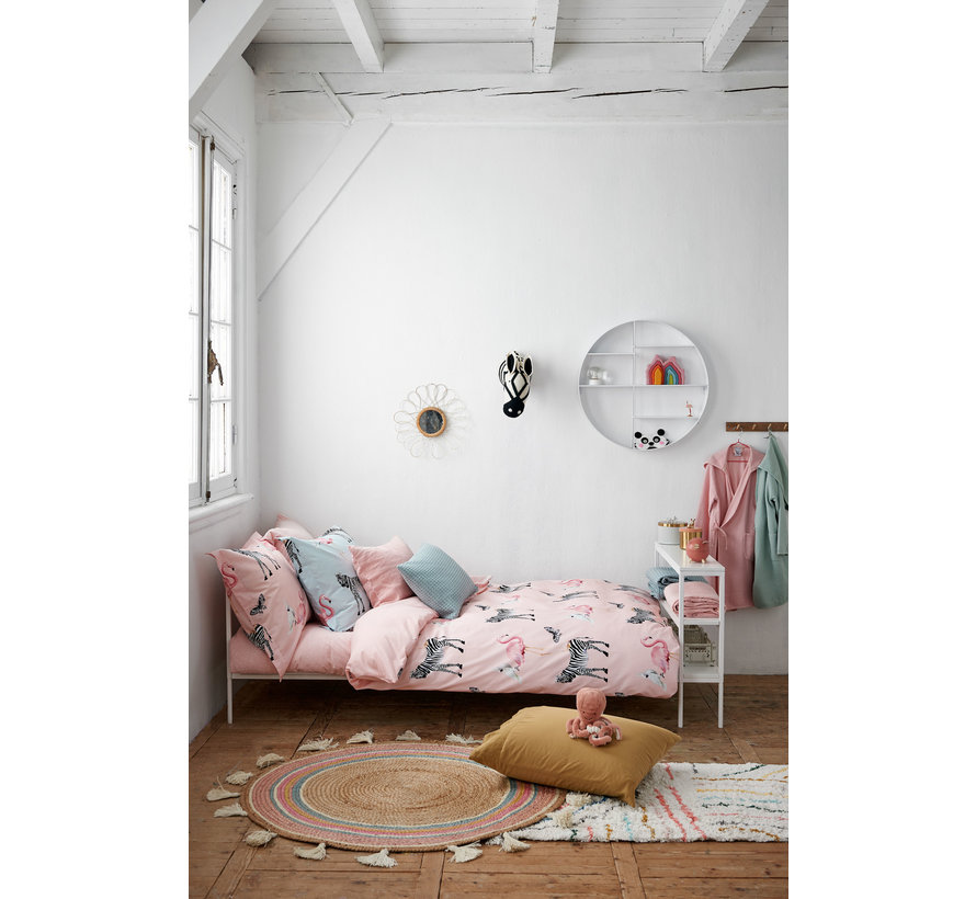 Dekbedovertrek KIDS Jersey 140x220 cm Light Pink (KIKA19203)