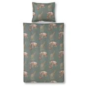 Vandyck Duvet cover KIDS Elephant 140x220 cm Olive