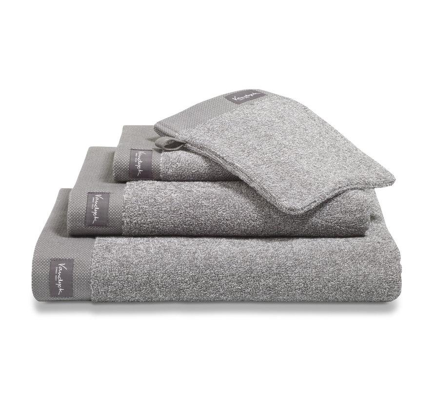 Towel HOME Mouliné color Mole Gray (BAKC18201)