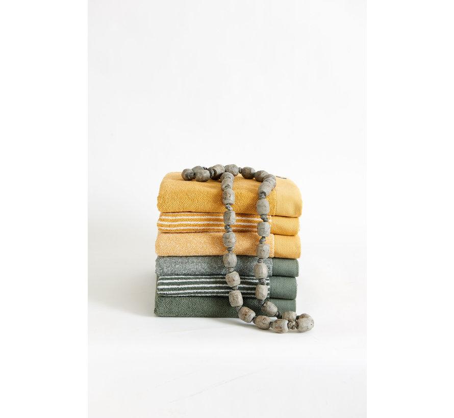Handdoek HOME Petit Ligne kleur Vintage Blue (BAKC15101)