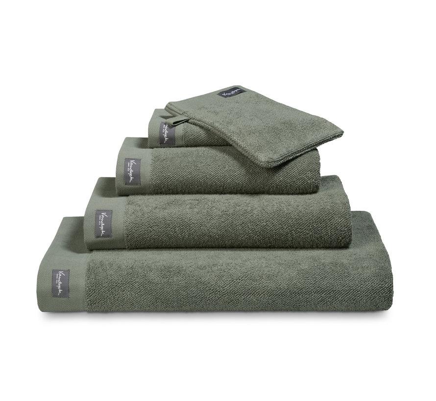 Handdoek HOME collection Uni Olive (BAKC13202)