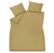Vandyck Housse de couette en coton lavé 140x220 cm Honey Gold (coton)