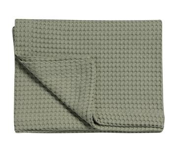Vandyck HOME Pique waffle blanket 160x250 cm Light Olive-123
