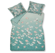 Vandyck Duvet cover RESOURCEFUL Ocean Blue 200x220 cm (satin cotton)