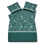 Vandyck Duvet cover SMALL BIRDS Mint Green 140x220 cm (satin cotton)