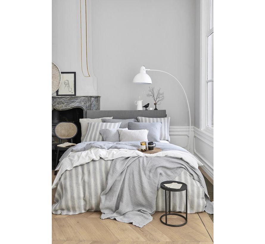 Duvet cover HOME 88 Gray 140x220 cm (cotton) HCSA20188