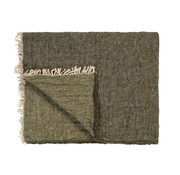 Vandyck HOME 81 plaid 130x220 cm Earth Green