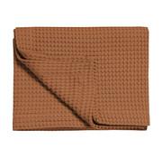 Vandyck HOME Pique waffle blanket 270x250 cm Cognac-162