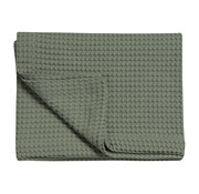Vandyck HOME Pique waffle blanket 160x250 cm Earth Green-149