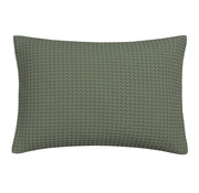 Vandyck HOME Pique pillowcase 40x55 cm Earth Green-149