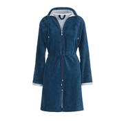 Vandyck CHICAGO bathrobe Navy-036