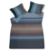 Vandyck Duvet cover INFINITE MIRROR Storm Blue 140x220 cm (satin cotton)