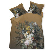 Vandyck Duvet cover FLOWERING Sandy Gold 140x220 cm (satin cotton)