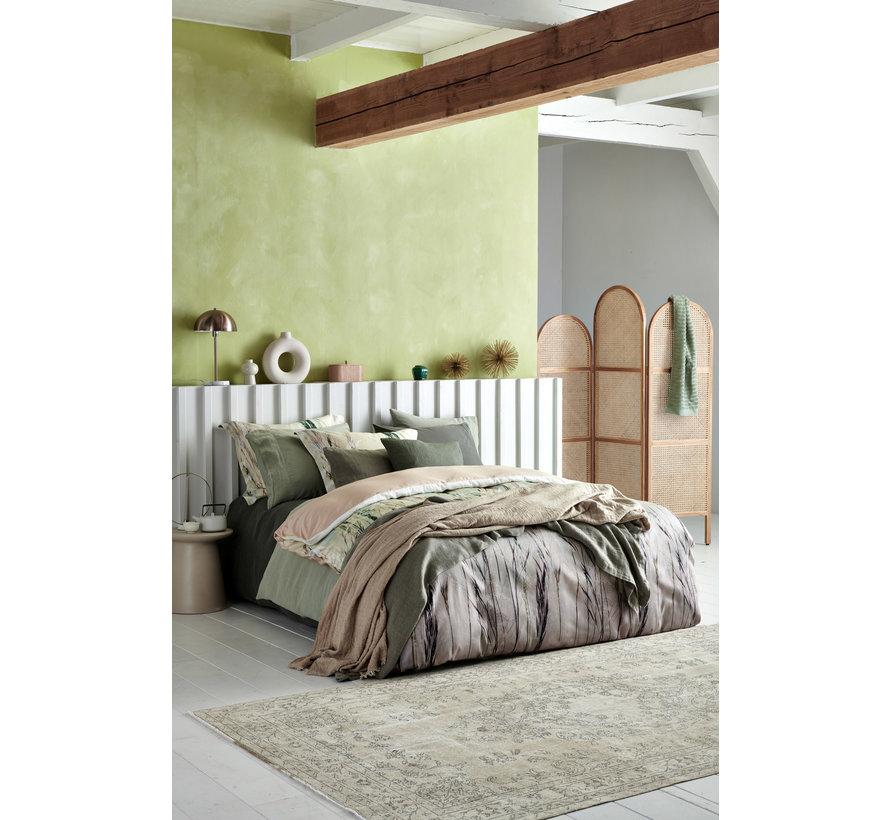 WASHED COTTON duvet cover 240x220 cm Gray (cotton)