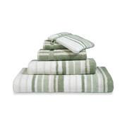 Vandyck Bath textiles ONTARIO Smoke Green-814