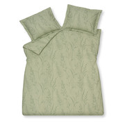 Vandyck Duvet cover TINY LEAVES Smoke Green 240x220 cm (cotton)