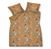 Vandyck Duvet cover WANDERLUST Toffee 240x220 cm (satin cotton)