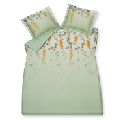 Vandyck Duvet cover VICTORIA Smoke Green 200x220 cm (satin cotton)
