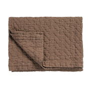 Vandyck PURE 10 plaid/sprei 180x260 cm Brownie (katoen)