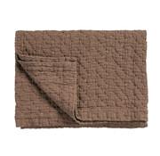 Vandyck PURE 10 plaid/sprei 260x260 cm Brownie (katoen)