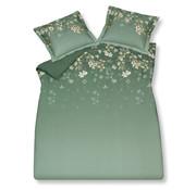 Vandyck Duvet cover SPARKLING Vintage Green 140x220 cm (satin cotton)
