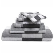 Vandyck Handdoek Boston Silver Grey-088