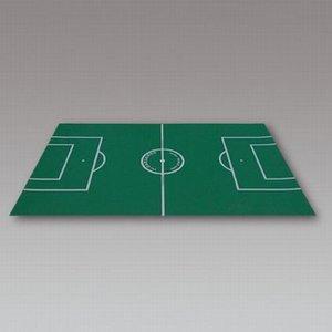 Tafelvoetbal speelveld karton
