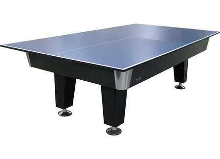 Table tennis table for billiards
