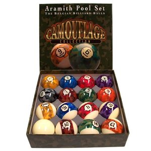 Pool Balls Aramith Camouflage size 57, 2 mm