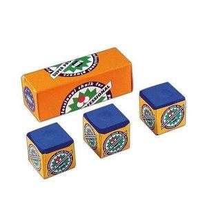 NIR Super Professional doosje 3 krijtjes Blauw